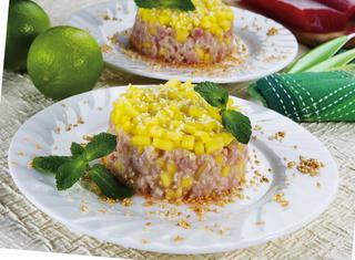 Ricetta Tartare di tonno al mango e sesamo