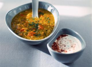 Zuppa di zucca giamaicana