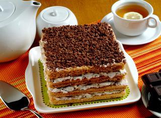 Torta golosa al pan di Spagna