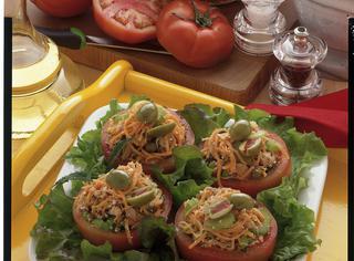 Pomodori farciti julienne