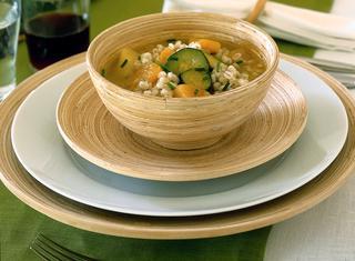 Ricetta Zuppa d'orzo con verdure