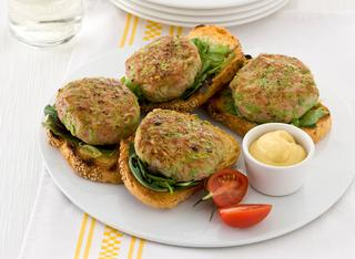 Hamburger di tacchino e zucchine