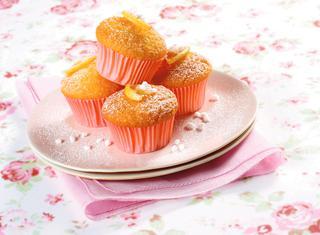 Muffin al limone e vaniglia