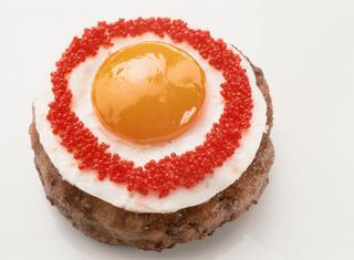 Ricetta Hamburger con uovo