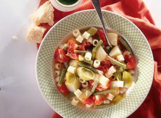 Ricetta Zuppa di patate e fagioli