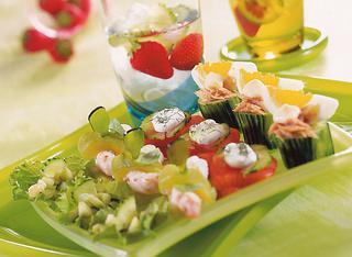 Ricetta Caipiroska con gli snack al cetriolo