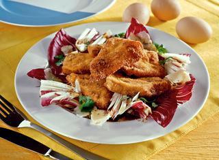 Fettine di pollo al parmigiano