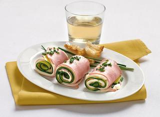 Ricetta Involtini di prosciutto e zucchine