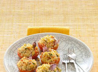 Ricetta Pomodori gratinati al bulgur