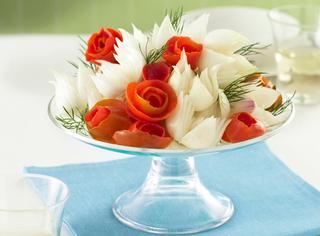 Ricetta Bouquet di ortaggi