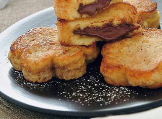 Toast dorati dal cuore caldo