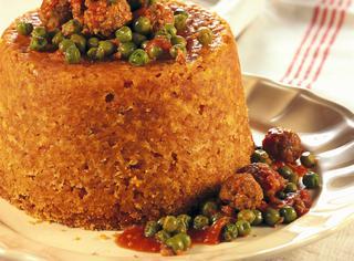 Ricetta Sartù di riso con il sugo e le polpettine