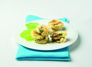 Polpette di asparagi e patate senza uova