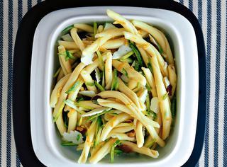Ricetta Pasta fredda con zucchine, limone e pecorino