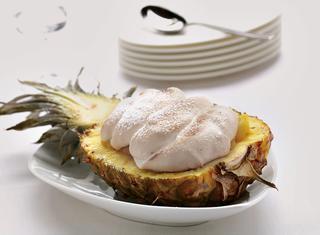 Ananas meringato