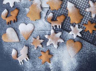 Pepparkakor: biscotti speziati senza burro