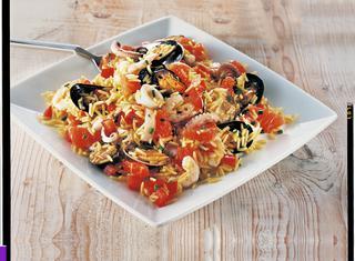 Ricetta Insalata di riso con frutti di mare