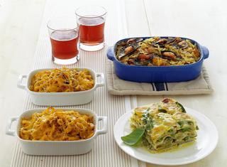 Lasagne al pesto con fagiolini e patate