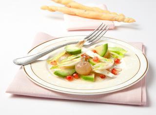 Ricetta Avocado e melograno