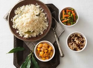 Ricetta come fare il riso pilaf al forno e i suoi condimenti
