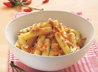 Ricetta Pasta alla carbonara di carote