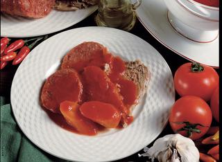 La ricetta dei bolliti misti con sugo rosso