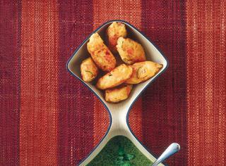 Polpette vegetariane con salsa al basilico