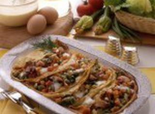Ricetta Crepes alle verdure