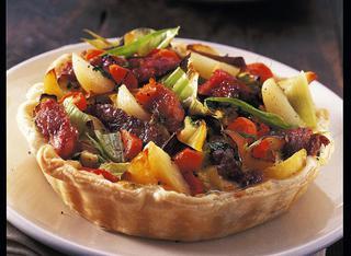 Ricetta Torta salata di patate e porri