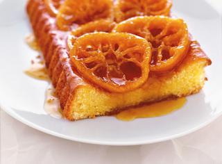 Ricetta Torta alle arance caramellate