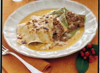 Ricetta Lasagne al ragù di carne e funghi