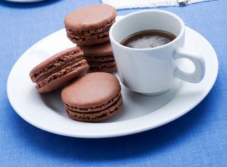 Ricetta Macarons al cioccolato
