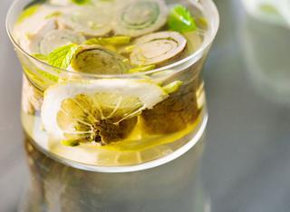 Ricetta Messicani alla melissa in gelatina al timo