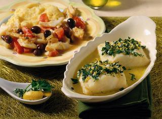 Baccalà in umido con le olive