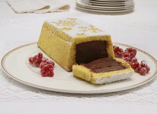Ricetta Mattonella di pasta biscotto con crema al cioccolato