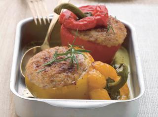 Ricetta Peperoni ripieni con carne di maiale e patate