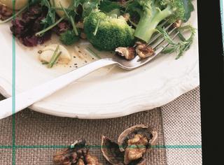 Insalata di broccoli e patate allo zenzero