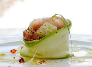 Ricetta Turbante di pesce azzurro e zucchina