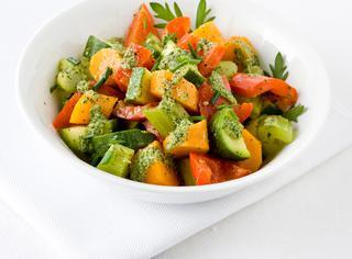 Macedonia di verdure al vapore