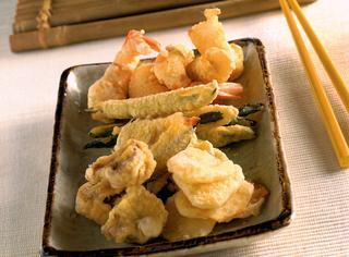 Tempura: fritto misto della cucina giapponese