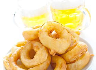 Ricetta Anelli di cipolla fritti