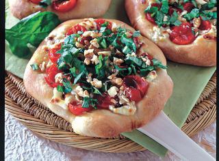 Ricetta Pizze di rucola e robiola