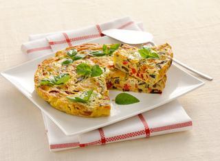 Ricetta Frittata al forno con verdure e formaggio