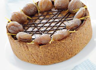 Ricetta Cheesecake di ricotta e marroni