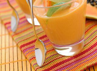 Ricetta Crema di papaia al cocco