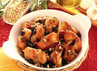 Ricetta Coniglio arrosto con le olive