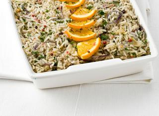 Ricetta Riso pilaf all'arancia