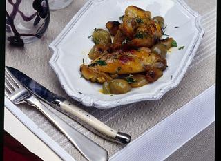 Ricetta Coniglio al forno allo zafferano