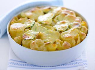 Ricetta Gratin di pasta e ortaggi