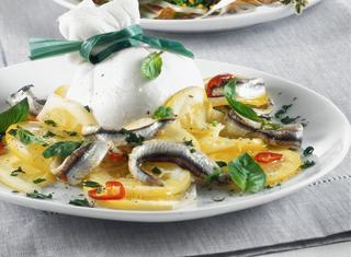 Ricetta Triglie fritte con verdure in agrodolce